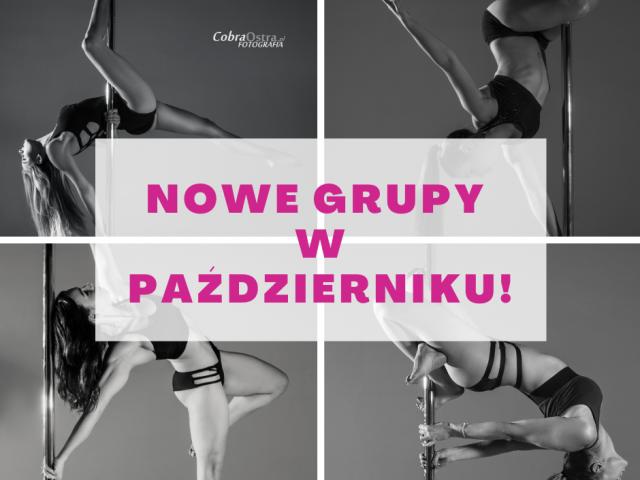 Nowe grupy PAŹDZIERNIK!
